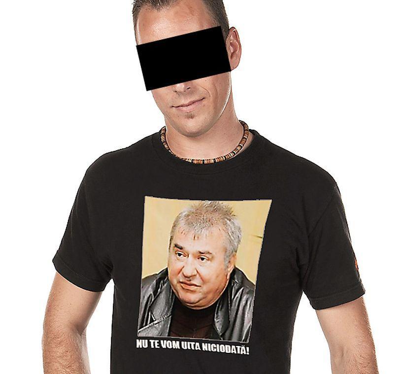 Angajații lui Naghi au purtat la înmormântare tricouri cu chipul afaceristului