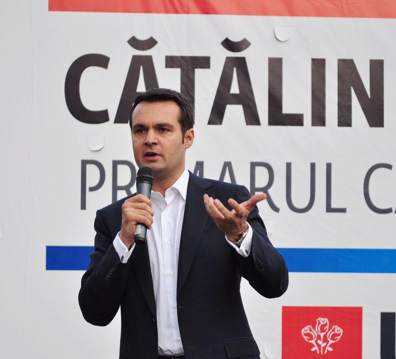 ALEGERI LOCALE 2012| El este cel mai tânăr şi cel mai votat primar din România ! Cătălin Cherecheş, reales primarul municipiului Baia Mare cu 86,3 % !