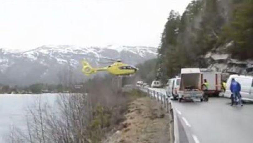 N-o să crezi unde a aterizat cu elicopterul! În echilibru perfect unde nu te-ai fi aşteptat niciodată! | VIDEO