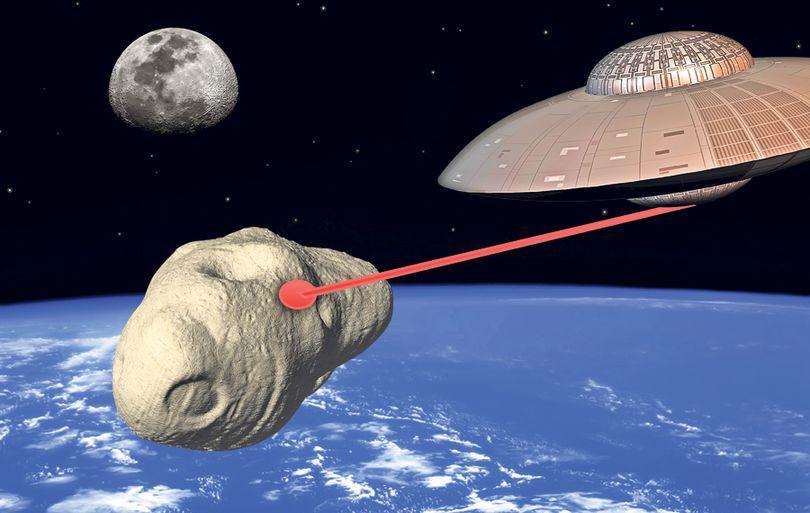 Ipoteză şocantă: Meteoritul de la Celiabinsk, «trimis» pe Terra de un OZN