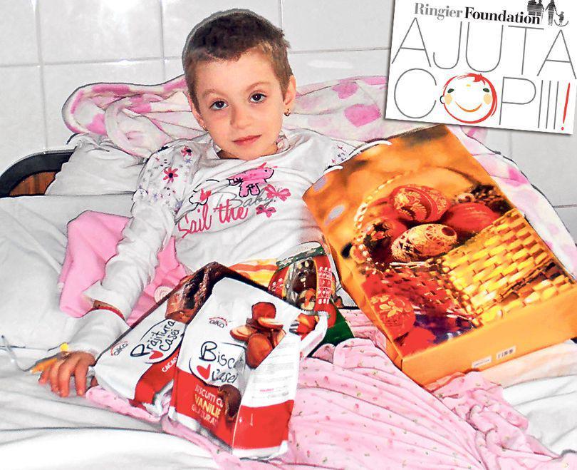 Am dus cadouri copiilor cu tumori maligne!