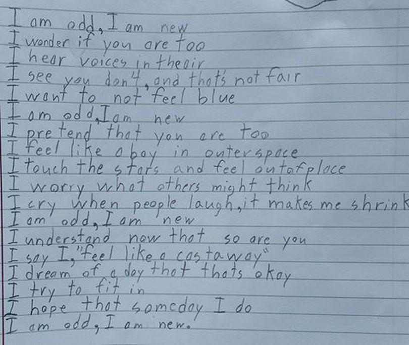 Poezia Unui Copil Care Sufer De Autism A Nduioat Ntreaga Lume Ce Scris Biatul Zece Ani
