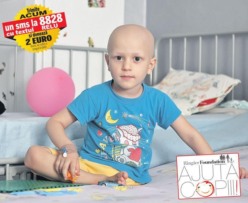 Cancerul l-a lăsat fără un picior | Să-l ajutăm pe Relu să redevină un băiețel normal