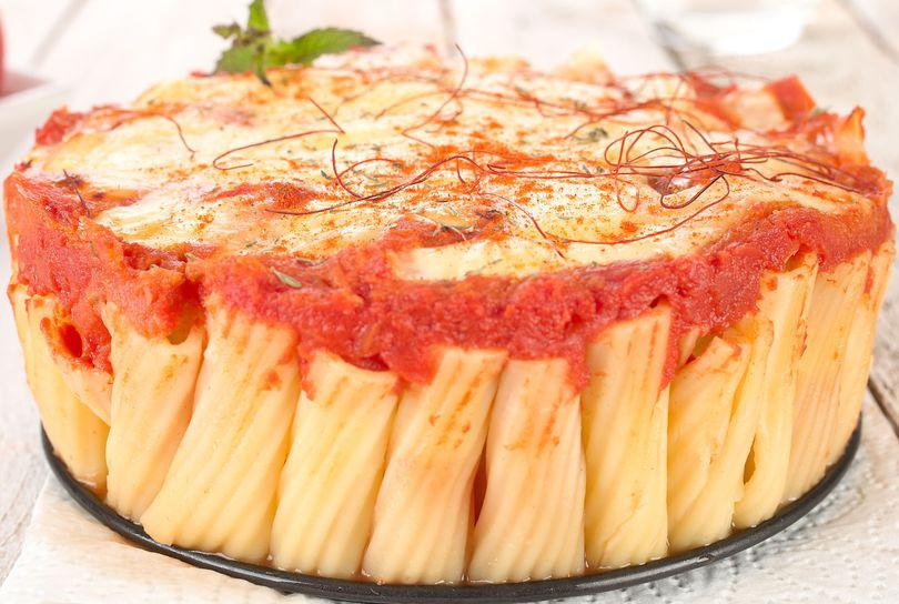 Tort de paste penne Margherita