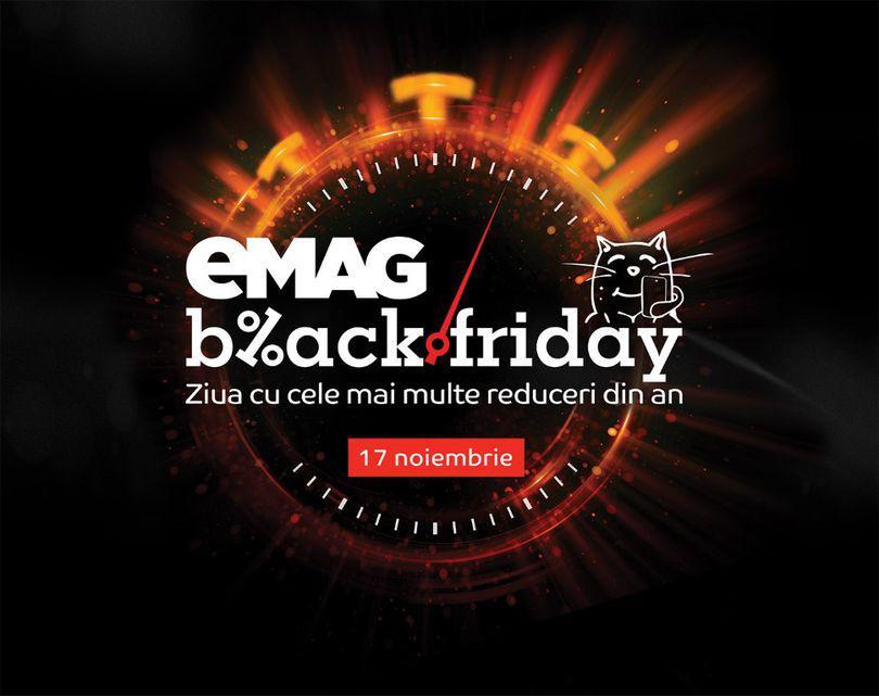 Zece oferte de la eMag de Black Friday 2017. De la televizoare Nei de 399 de lei și laptopuri Lenovo la 499 de lei până la console Xbox de 599 lei. Care sunt cele mai mari reduceri