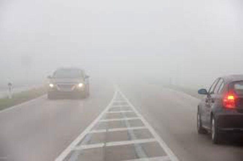 Cod galben de ceață în Brașov și în alte șase județe din țară