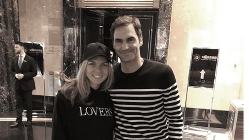 Simona Halep și-a reîntâlnit idolul la Australian Open 2018 | VIDEO