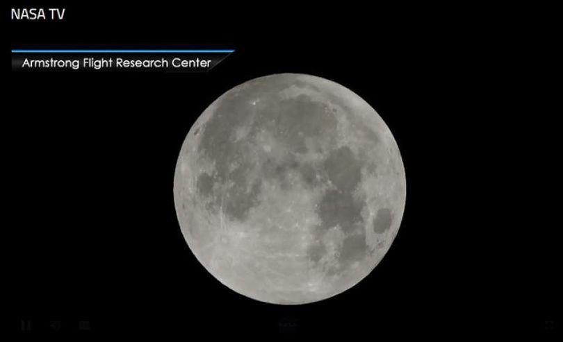 VIDEO/ NASA transmite imagini live video cu SUPER LUNA ALBASTRĂ SÂNGERIE