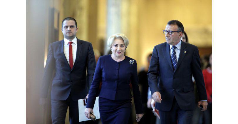 Premierul Viorica Dăncilă pleacă pe 20 februarie la Bruxelles; Este prima sa vizită externă, de la preluarea mandatului