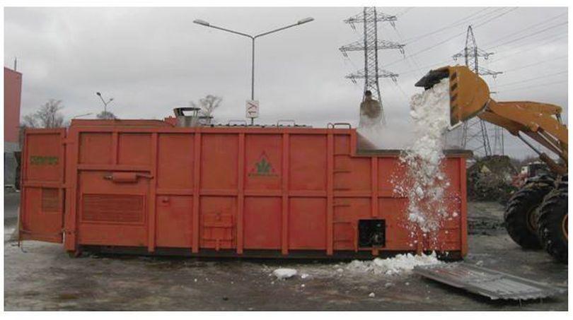 EXCLUSIV: Cum arată utilajele care vor topi zăpada din București