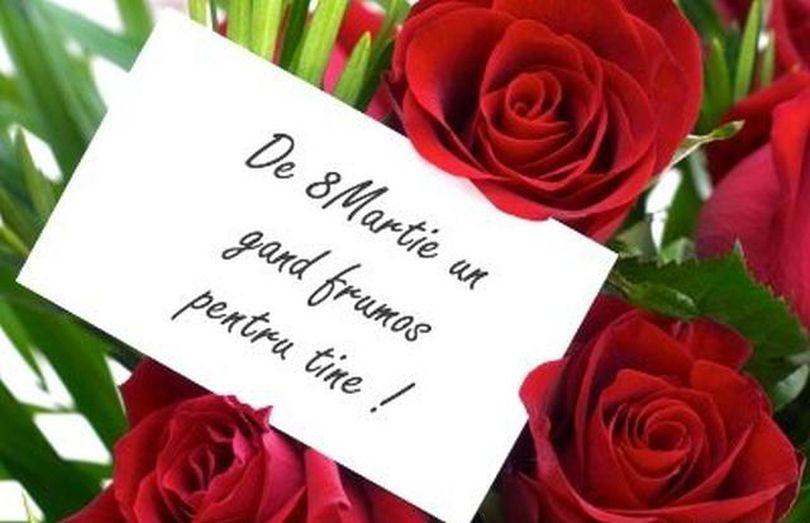 Felicitări de 8 Martie. Cele mai frumoase mesaje şi urări de 8 Martie