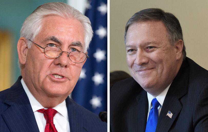 Mike Pompeo, șeful CIA, îi va lua locul lui Tillerson ca șef al diplomației americane