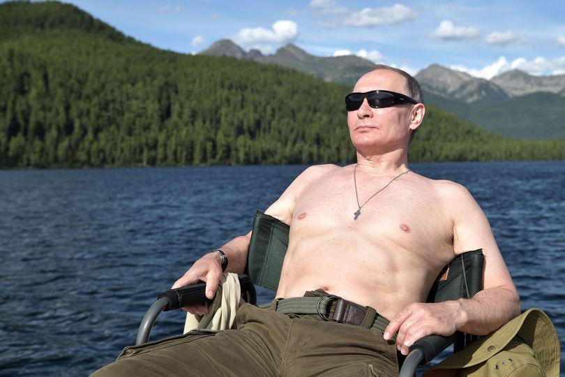 Fotografii cu Vladimir Putin în ipostaze inedite – GALERIE FOTO