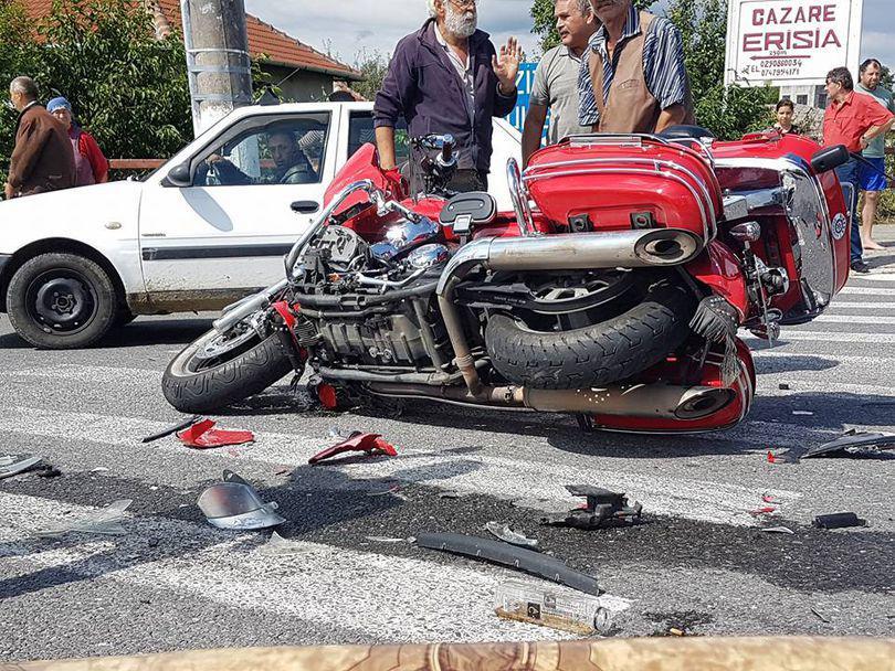 EXCLUSIV. Cristi Hrubaru și-a schimbat motocicleta cu care s-a accidentat cu una mai mare!