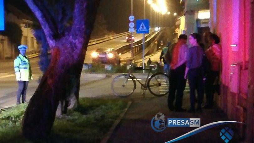 Un biciclist din Satu Mare simula accidente auto, pentru a le cere despăgubiri șoferilor nevinovați (Video)