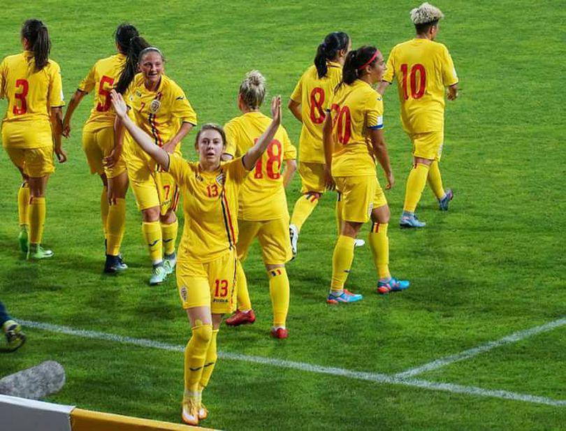 """România – Portugalia 1-1. Și naționala feminină de fotbal e în ton cu """"performanța"""": locul 4 e al nostru"""