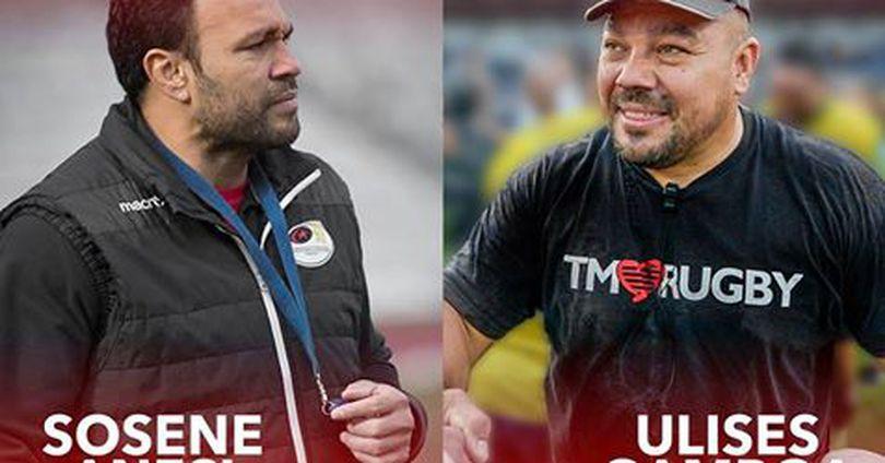 Sosene Anesi, noul antrenor de la Timișoara Saracens