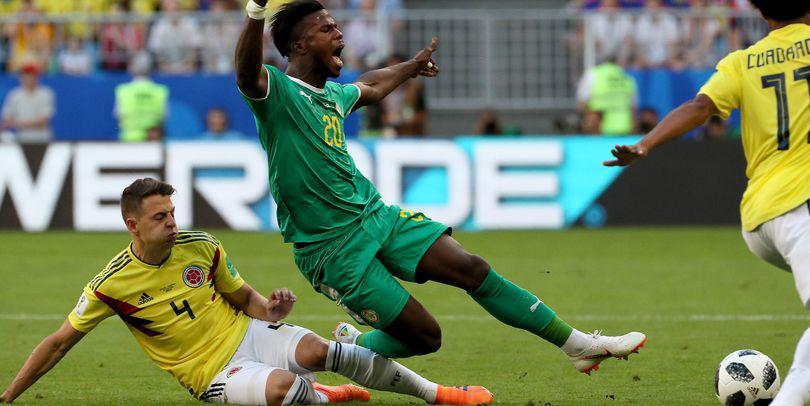 """Senegal – Columbia 0-1, în grupa H a Campionatului Mondial de fotbal Rusia 2018. Mina a marcat! Afircanii s-au """"ars"""" cu VAR"""