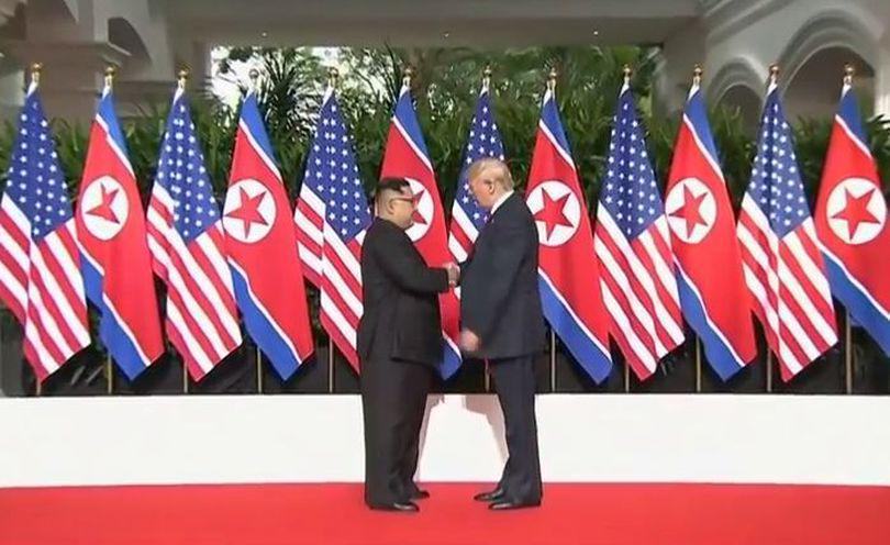 FOTO | Ce au mâncat în timpul summitului Donald Trump și Kim Jong-un