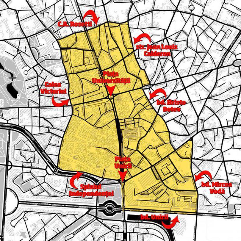 S-a votat: Vom avea tarife pentru parcarea în București de aproape 10 ori mai mari decât în prezent