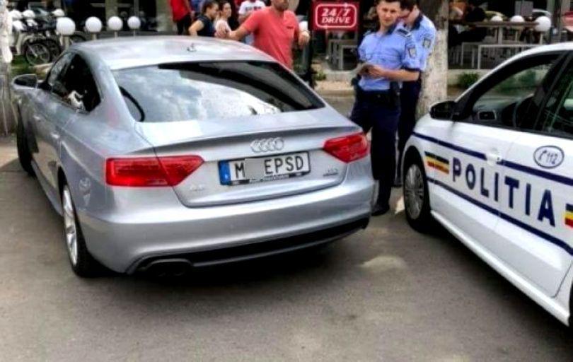 Mașina cu număr anti-PSD a ajuns în presa internațională. Euronews: Când un număr de mașină devine declarație politică
