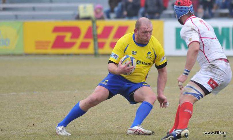 Mihăiță Lazăr s-a transferat la Grenoble. Rugbistul român a semnat un contract pe un an