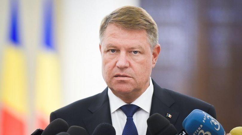 Klaus Iohannis cere Procurorului General al Romaniei să facă cercetări în urma incidentelor din Piața Victoriei