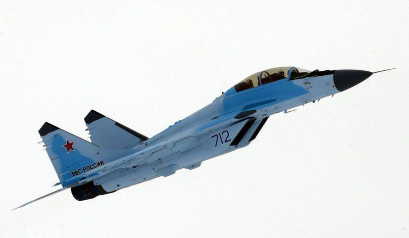 Un avion de vânătoare MIG-29 s-a prăbușit în Egipt
