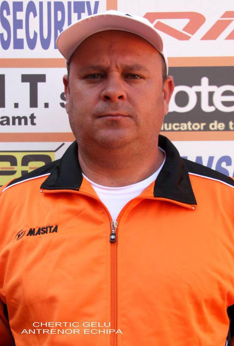 A murit Gelu Chertic, fost fotbalist la Ceahlăul. Era profesor la LPS Piatra-Neamț