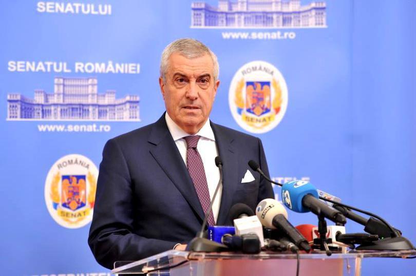 """Călin Popescu Tăriceanu, mesaj de susţinere pentru Tudorel Toader: """"Dacă îi deranjează pe aşa de mulţi, probabil că face şi ceva bine"""""""
